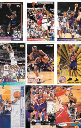 Charles Barkley Cards Lot 4