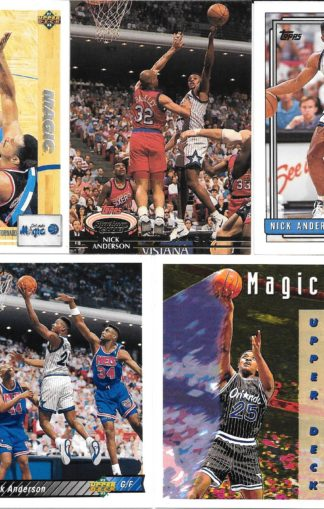 Nick Anderson Cards