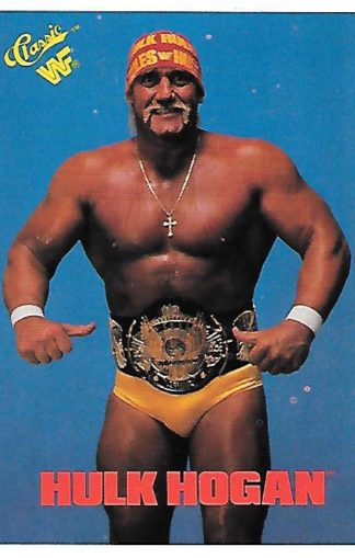 1990 Classic WWF #001 Hulk Hogan