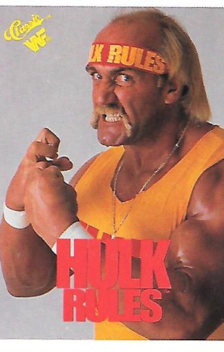 1990 Classic WWF #057 Hulk Hogan