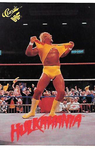 1990 Classic WWF #090 Hulk Hogan