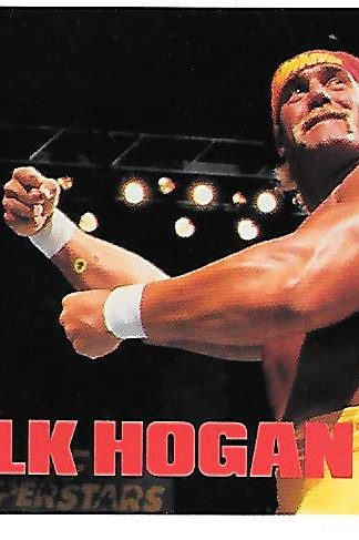 1990 Classic WWF #102 Hulk Hogan