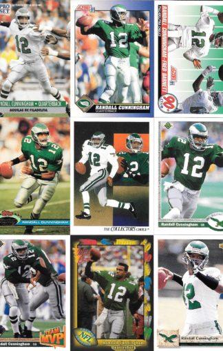 Randall Cunningham Cards Lot 3