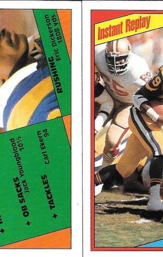 1984 Topps #276&281 Eric Dickerson