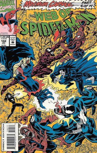 Web of Spider-Man #102