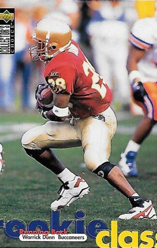 1997 Collector's Choice #011 Warrick Dunn Rookie
