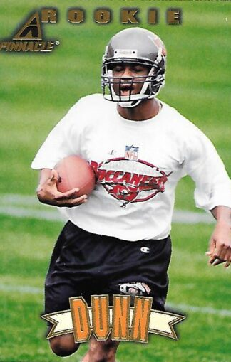 1997 Pinnacle #161 Warrick Dunn Rookie
