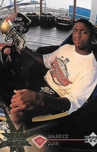 1997 Upper Deck #011 Warrick Dunn Rookie