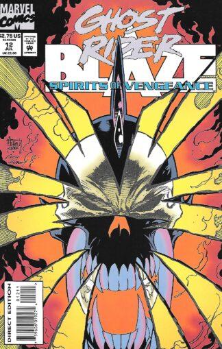 Ghost Rider Blaze Spirits of Vengeance #012