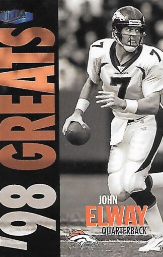 1998 Ultra #376 John Elway