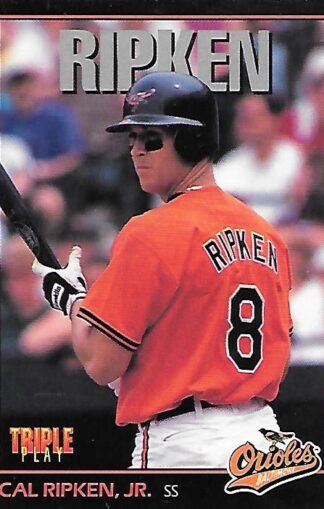 1993 Triple Play #003 Cal Ripken Jr