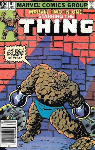 Marvel Two-In-One #091