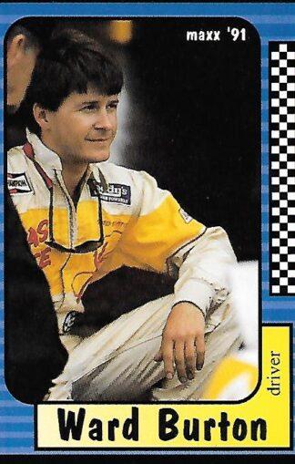 1991 Maxx #123 Ward Burton Rookie