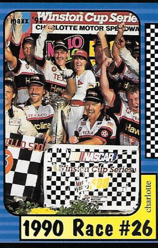 1991 Maxx #196 Davey Allison