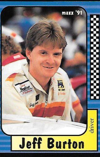 1991 Maxx #201 Jeff Burton Rookie
