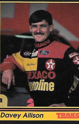 1991 Traks #028 Davey Allison