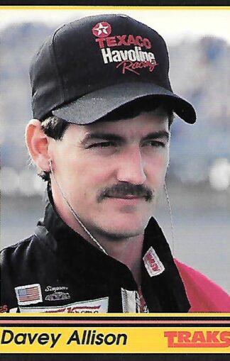 1991 Traks #156 Davey Allison