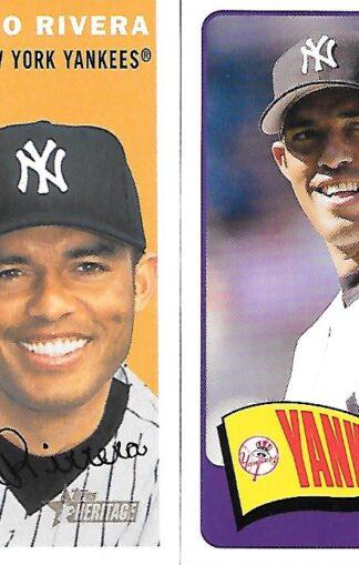 Mariano Rivera cards