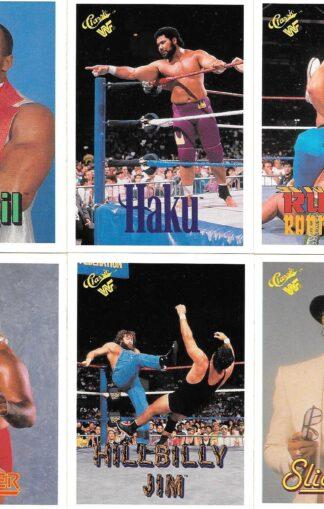 1990 Classic WWF #34-35,39-41