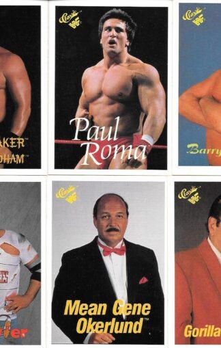 1990 Classic WWF #42,48-52