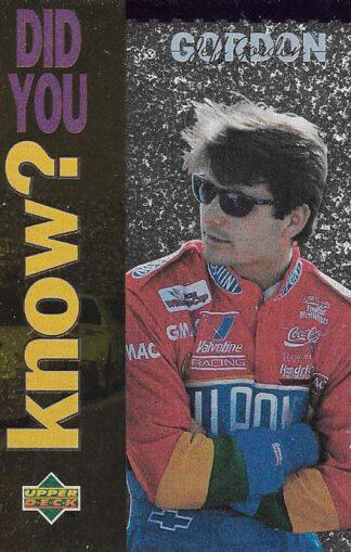 1995 Upper Deck #163 Jeff Gordon