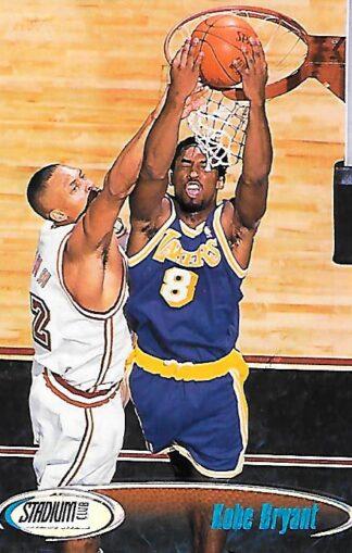 1998-99 Stadium Club #170 Kobe Bryant