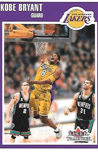 2002-03 Fleer Tradition #189 Kobe Bryant