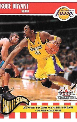 2002-03 Fleer Tradition #259 Kobe Bryant