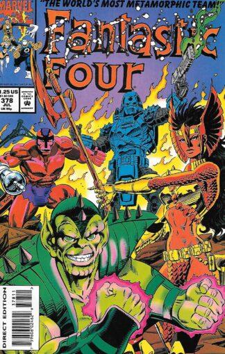 Fantastic Four #378