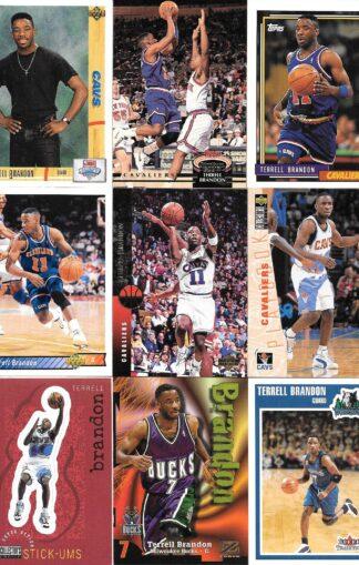 Terrell Brandon Cards