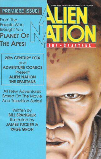 Alien Nation the Spartans #001