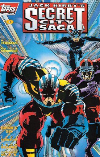 Secret City Saga (Jack Kirby's) #000