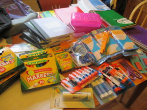 School Supply Drive for Colfax and Cheltenham Elementary Schools