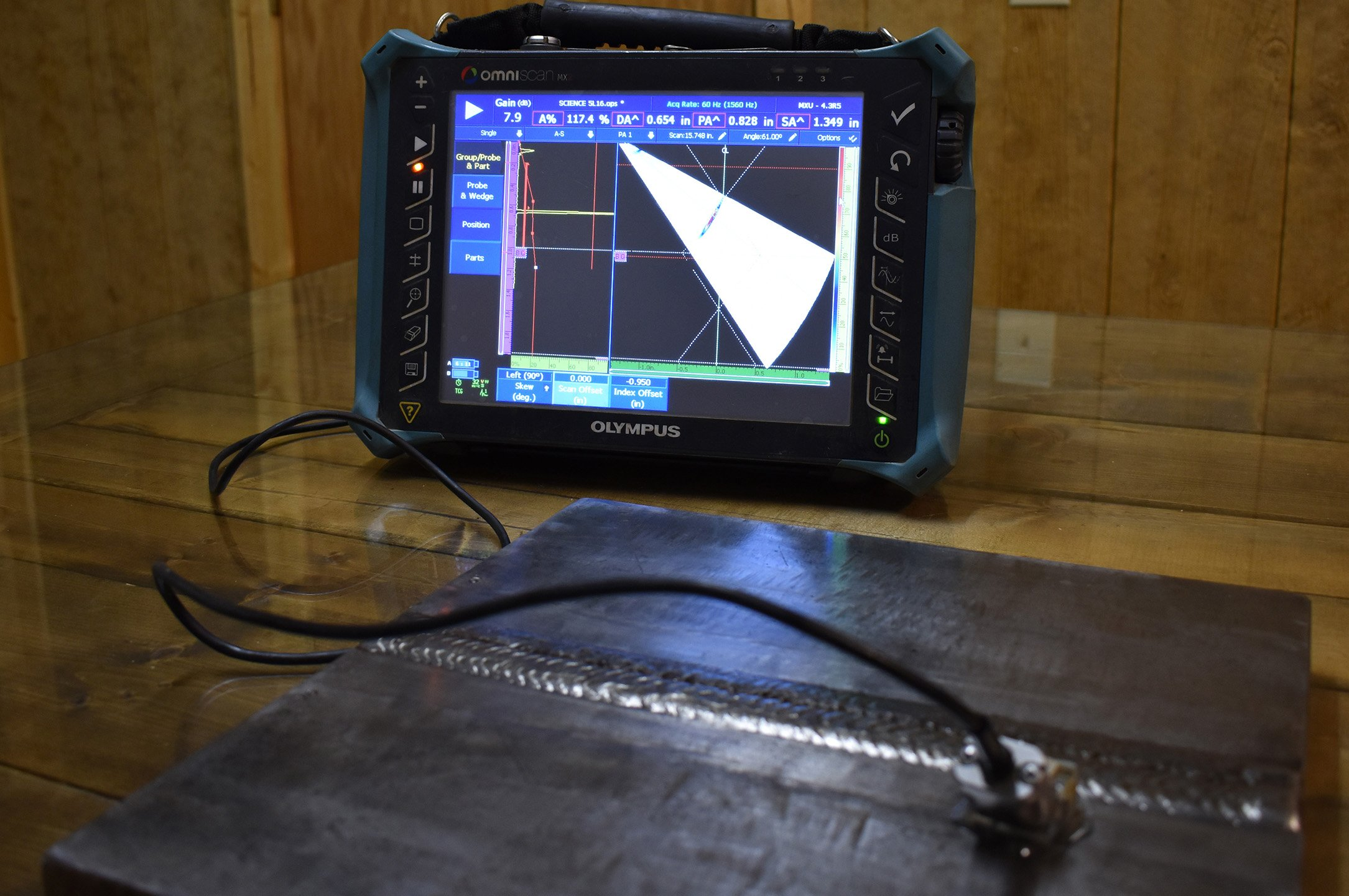 Phased Array Ultrasonic Testing