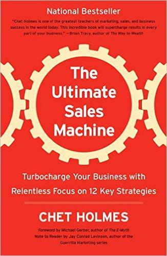 Ultimate Sales Machine, Chet Holmes, Jonathan Strietzel, Sales, Stadium PItch
