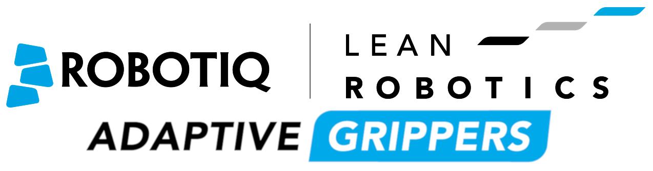 Robotiq Lean Robotics Adaptive Grippers Logo