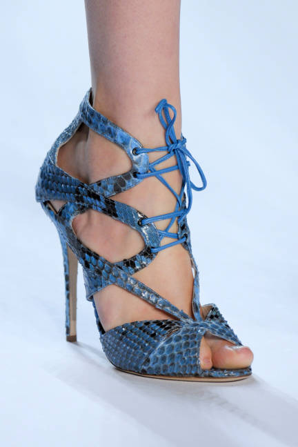 Monique Lhuillier Snakeskin Aquatic Shoe