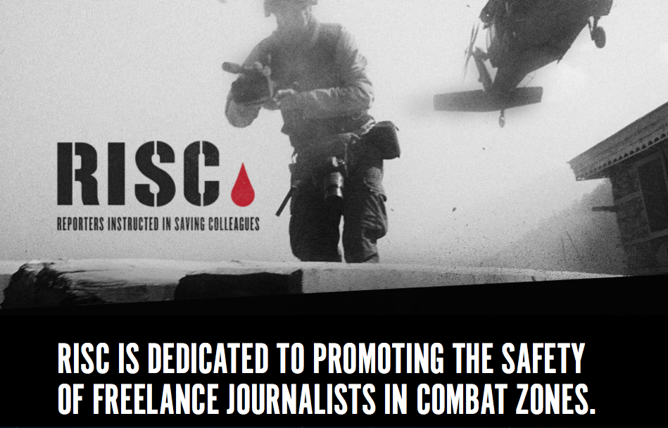 RISC: Reporters Trained in Saving Colleagues