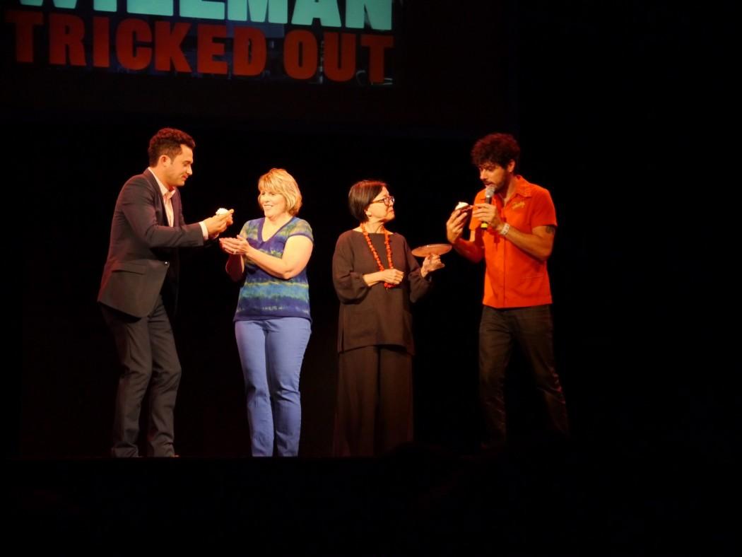 Justin Willman Audience Cupcake Wars
