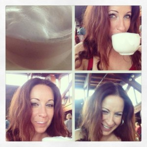 Big Sur. Cappuccino's are more than caffeine. They're fun at Nepenth (and in great company!).