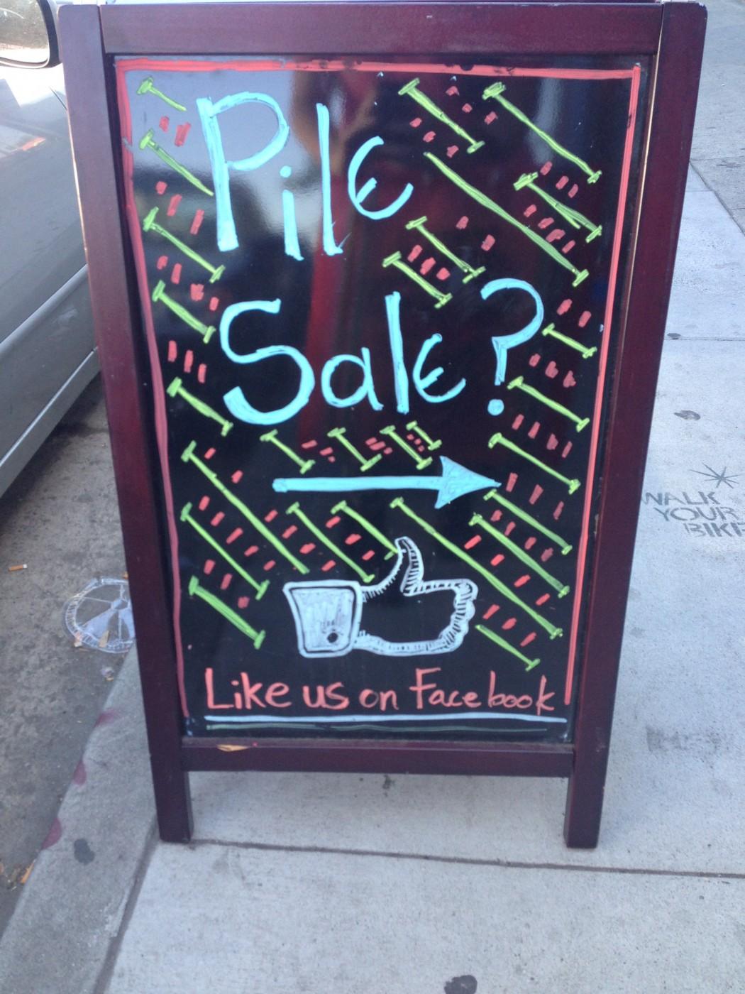 Pile Sale