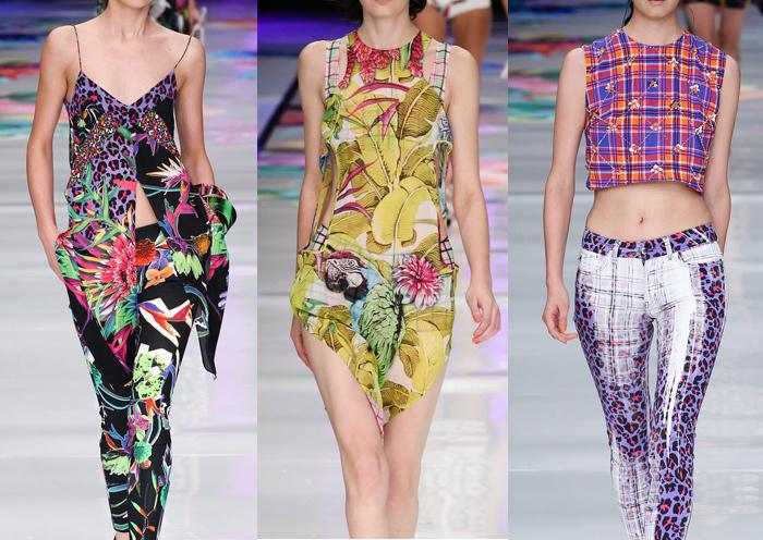 FashionJust_Cavalli_SS14_Milan_Print_trends_runway