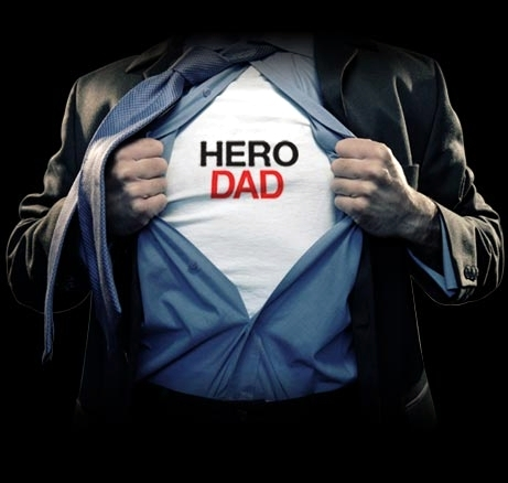 hero dad shirt