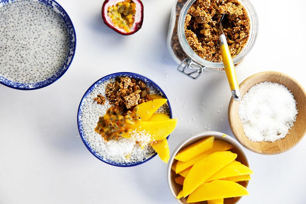 easy Quinoa granola b
