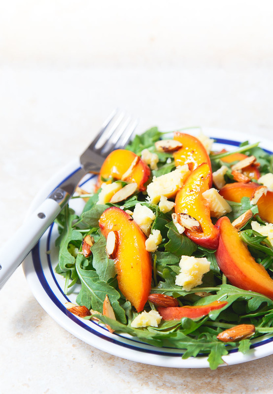 Kerrygold_Butter_Braised_Nectarine_and_Aged_Cheddar_Salad