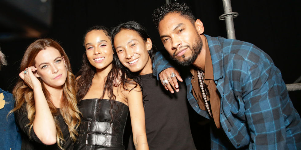 hbz best party photos alexander wang miguel alexander wang zoe kravitz