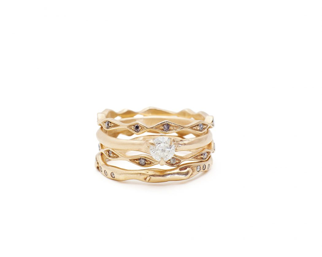 Rings stack Inez eternity band