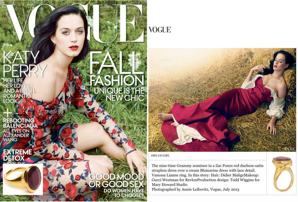 Vogue Cover katy perry copy