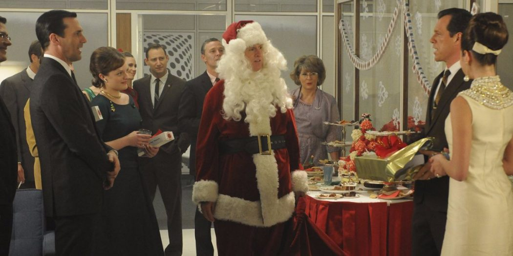 mad men christmas santa