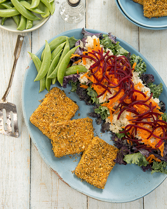 Shake Bake Herb Breading from DIY Vegan by Nicole Axworthy and Lisa Pittman